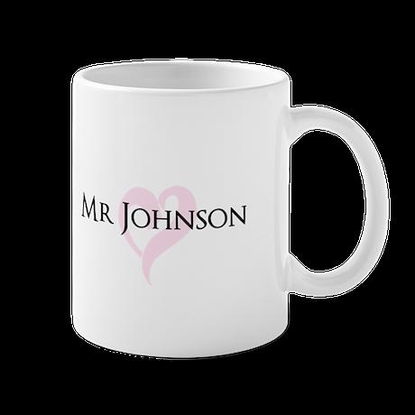 Own name Mr and Mrs set - Mr Mugs