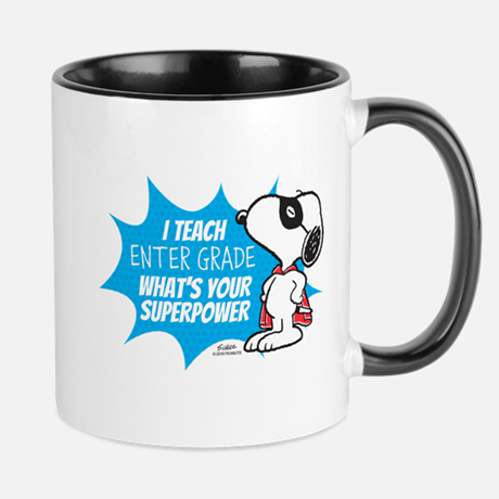 Personalizable Peanuts Teacher Mug