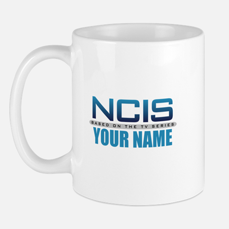 Personalized NCIS TV Logo Mug