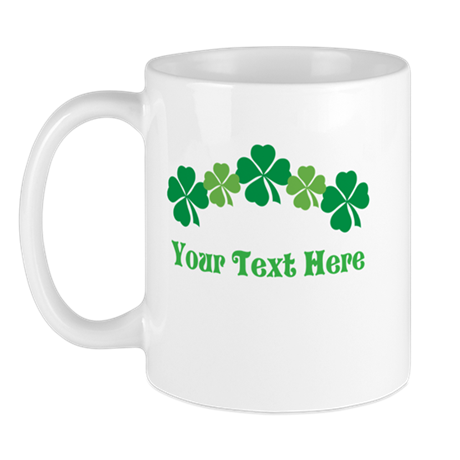 Irish St Patricks Personalized Mug