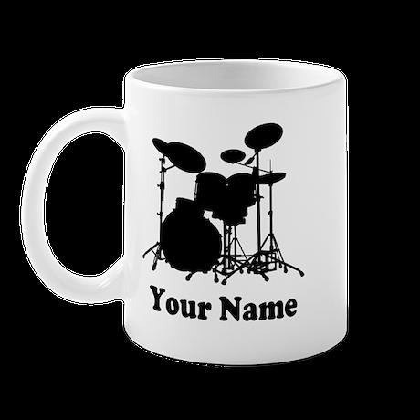 Personalized Drums Mug