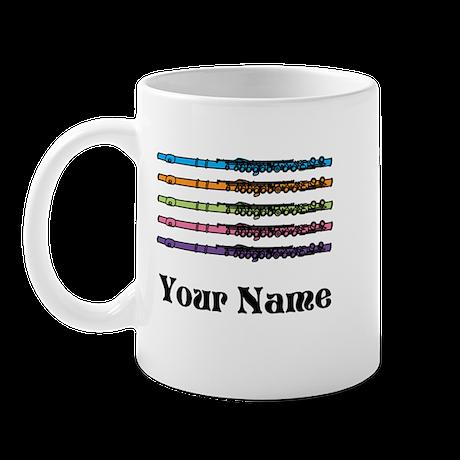 Personalized Flute Music Mug
