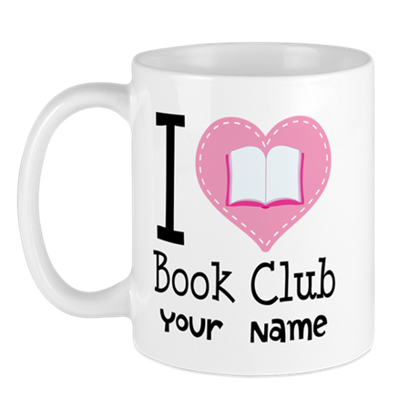 Personalized Book Club Mug