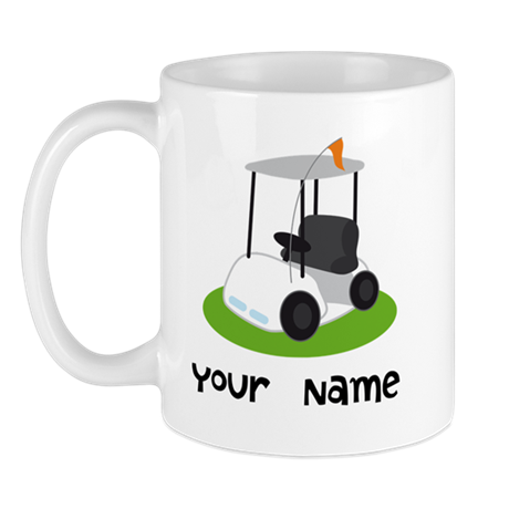 Golf Cart Gift For Golfer Mug
