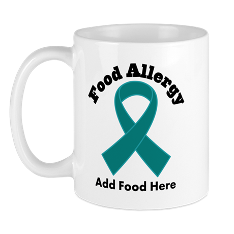 Personalized Food Allergy Mug