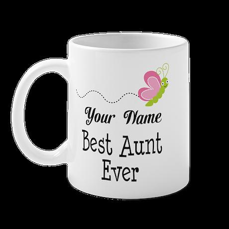 Personalized Best Aunt Mug