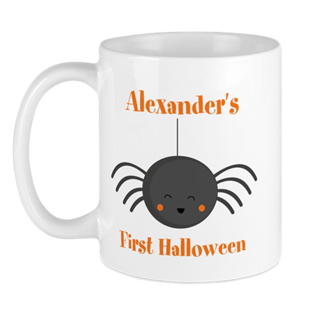 Kawaii Halloween Spider PD Mug