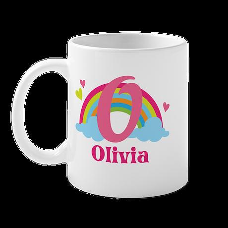 Personalized O Monogram Mugs