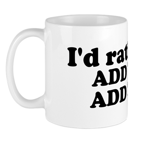I'd Rather Be (Custom Text) Mug