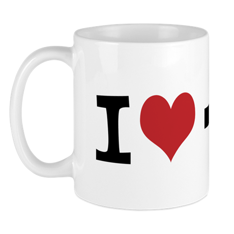 Customize Photo I heart Mug