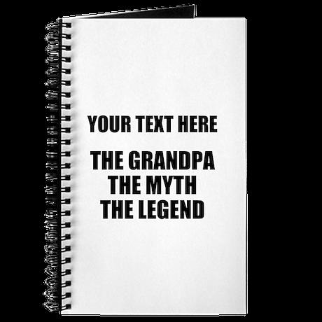 Custom Grandpa Myth Legend Journal by cafepretzel
