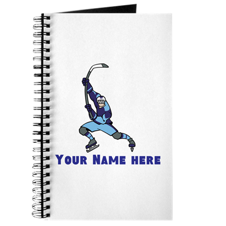 Personalized Hockey Journal