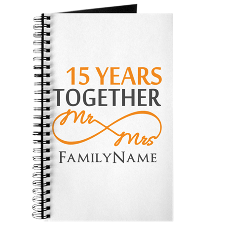 15th anniversary Journal