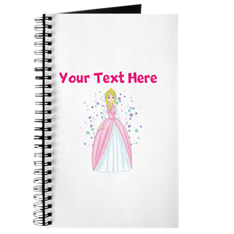 Personalize This Princess Designed Item Journal