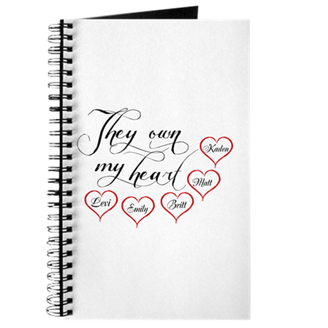 Children They own my heart Journal