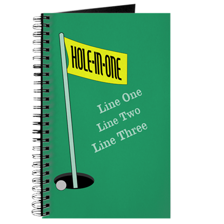 Golf Hole in One Journal