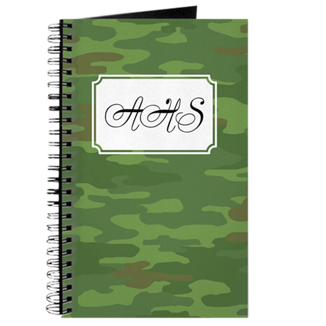 Camouflage Green Journal