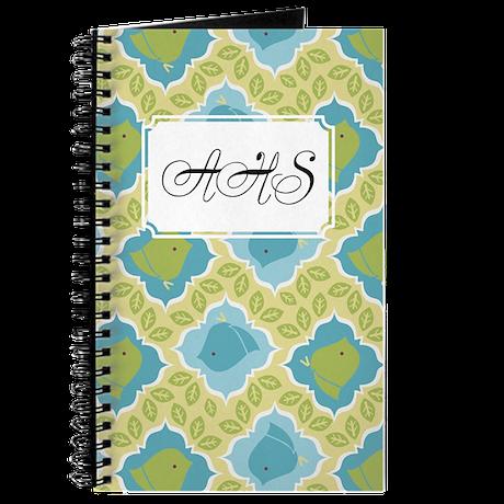 Chick Leaf Green Journal