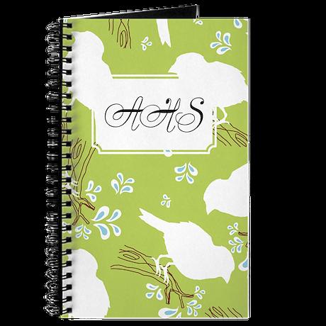 Clouds Green Journal