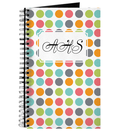 Colorful Dots Journal