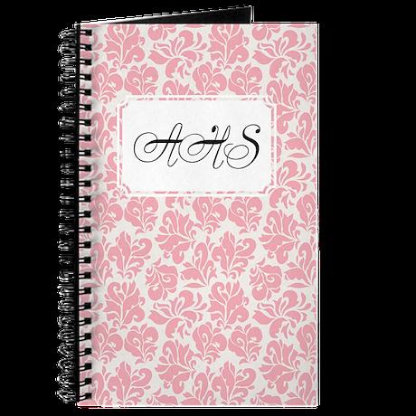 Flourish Leaves Pink Journal