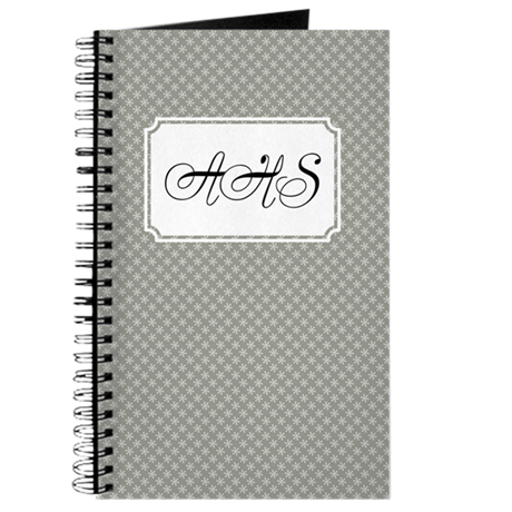 Flower dots Neutral Journal