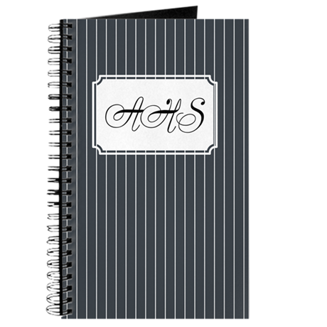 Pinstripe Navy Journal