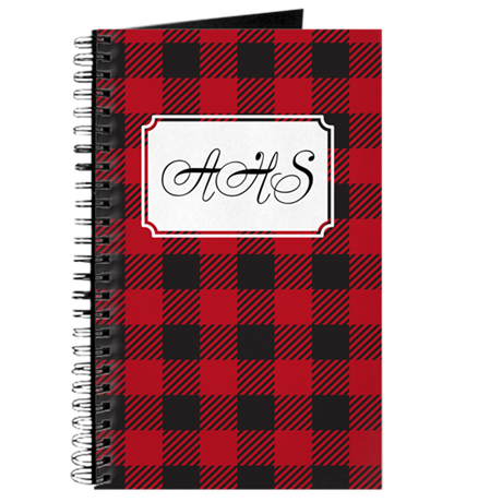 Plaid Red Journal