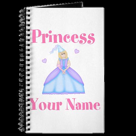 Blond Princess Personalized Journal