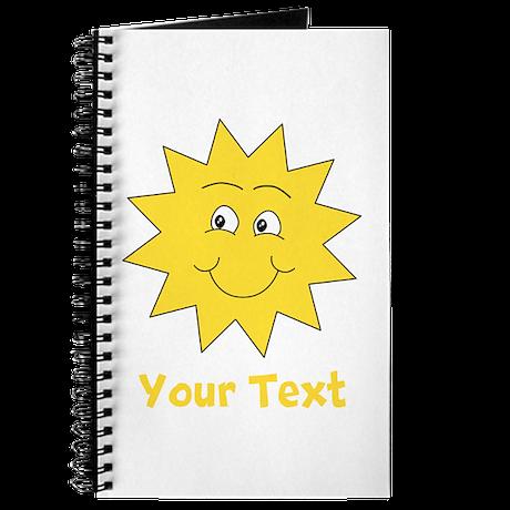 Yellow Happy Sunshine. Text. Journal