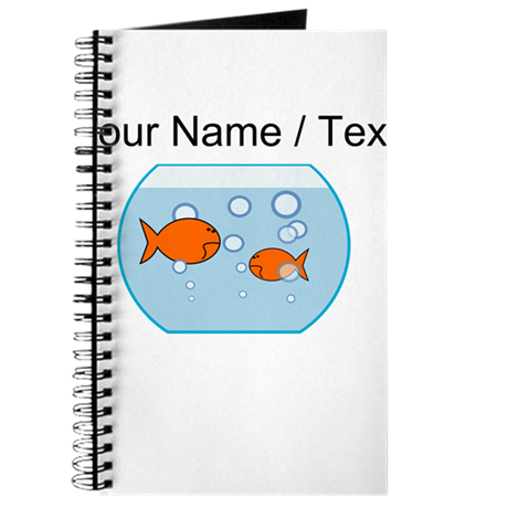 Custom Goldfish Bowl Journal