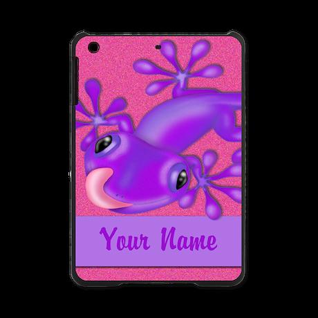 Pink Purple Personalized iPad Mini Case