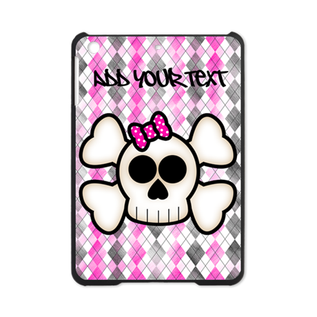 Kawaii Cute Emo Skull Ipad Mini Case