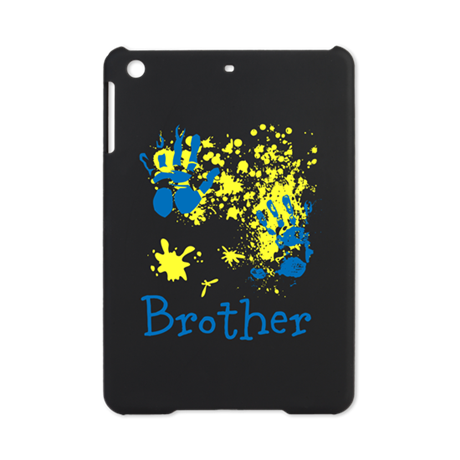 Brother, in Blue and Yellow. iPad Mini Case