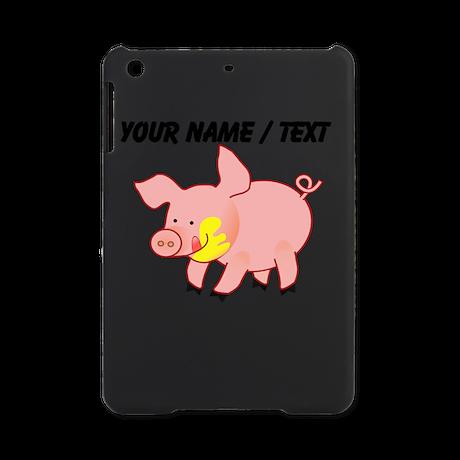 Custom Cartoon Pig iPad Mini Case