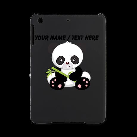 Custom Panda With Bamboo iPad Mini Case