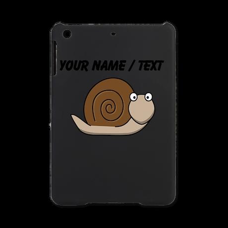 Custom Cartoon Snail iPad Mini Case