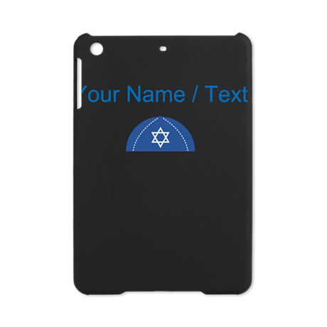 Custom Blue Yarmulke iPad Mini Case