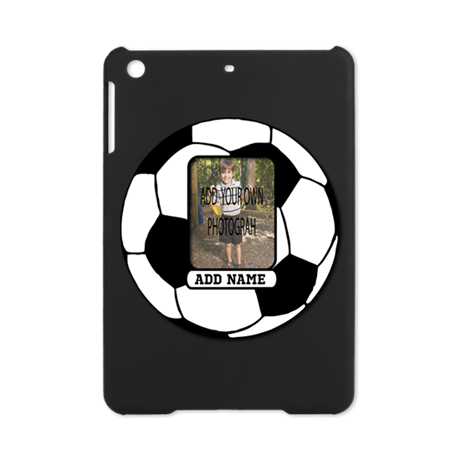 Photo and Name personalized soccer ball iPad Mini