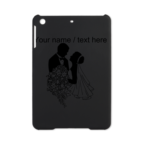 Custom Bride And Groom iPad Mini Case