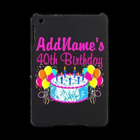 40TH PARTY iPad Mini Case