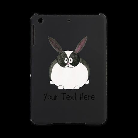 Dutch Rabbit. Custom Text. iPad Mini Case