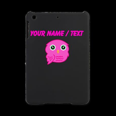 Custom Pink Owl iPad Mini Case