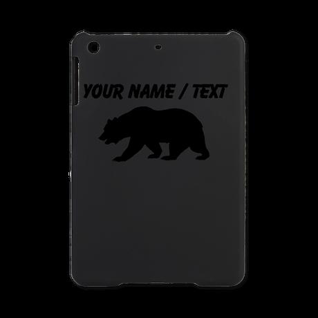 Custom Black California Bear iPad Mini Case