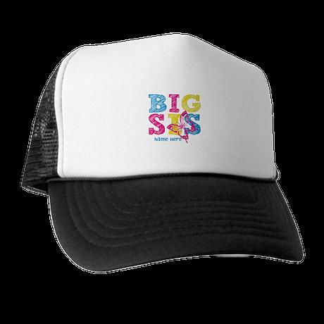 Butterfly Big Sis Trucker Hat