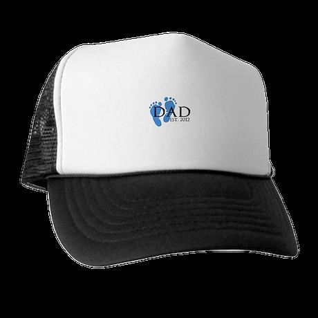 Dad Est 2012 Trucker Hat