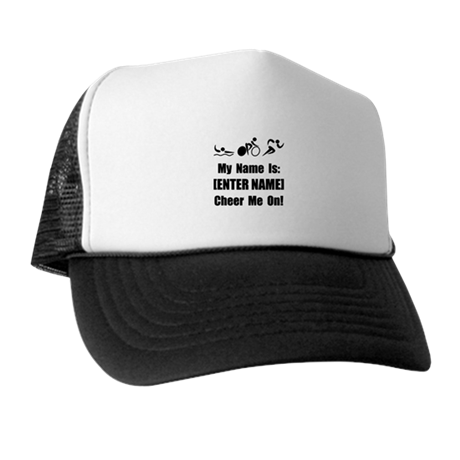 Tri Cheer Me [Personalize It! Trucker Hat
