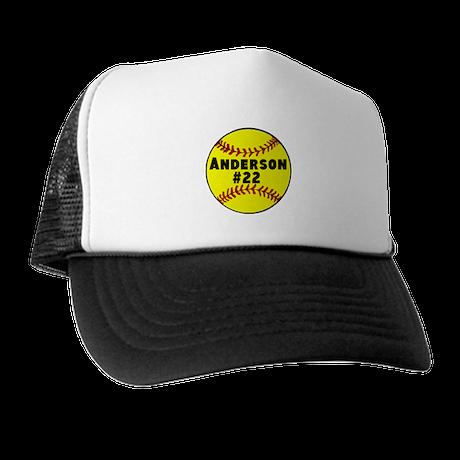 Personalized Softball Trucker Hat