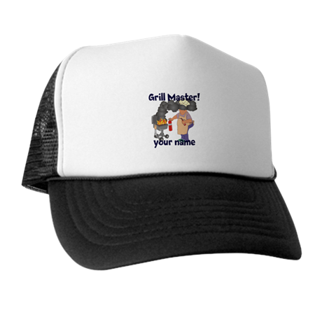 Personalized Grill Master Trucker Hat
