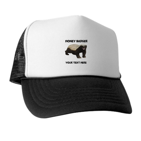 Custom Honey Badger Trucker Hat